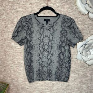 [The Limited] Dressy Knit Short Sleeve Sweater
